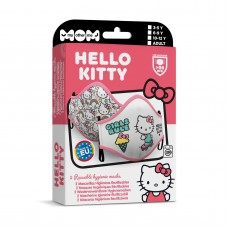Hello Kitty set with 2 hygienic masks