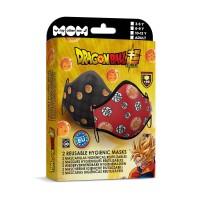 Dragon Ball set with 2 hygienic masks