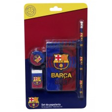 F.C. Barcelona Stationery set 4pcs