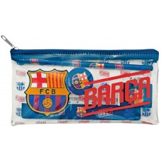F.C. Barcelona Pencil case with Stationery