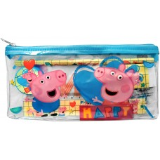 Peppa Pig Pencil case with Stationery