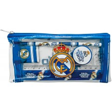 Real Madrid Pencil case with Stationery