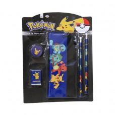 Pokemon stationery set with pencil case