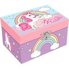 Unicorns musical Jewelry Box