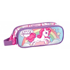 Unicorn double pencil case