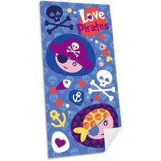 Pirates microfibre towel