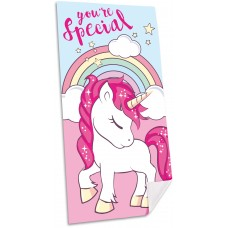 Unicorn microfibre towel