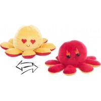 Reversible Octopus Plush Toy 24cm Love