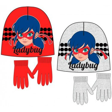 Hat and Gloves Miraculous Ladybug