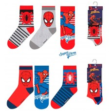 Spiderman pack with 3 socks