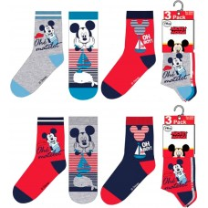 Mickey Mouse pack with 3 socks