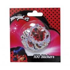 Miraculous Ladybug hologram stickers