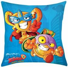 Superzings blue Cushion