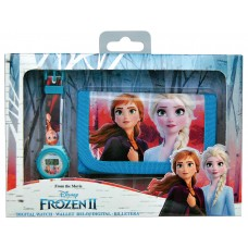 Disney Frozen 2 watch and wallet