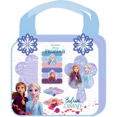 Disney Frozen 2 handbag with hair accessories