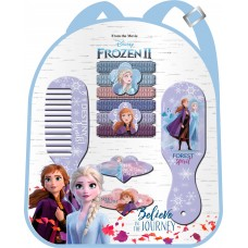 Disney Frozen 2 backpack with hair accessories