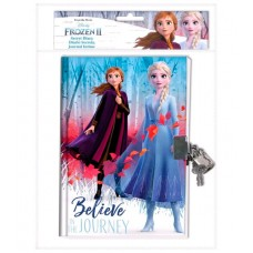 Disney Frozen 2 Diary with padlock