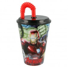 Tumbler with Straw Avengers Gallery