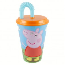 Tumbler with Straw Peppa Pig