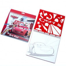 Disney Cars art pad