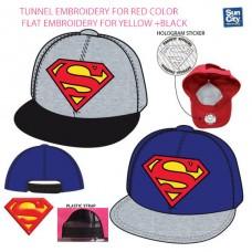 Superman adult baseball cap