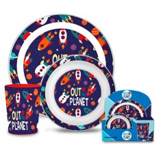 Planets breakfast set
