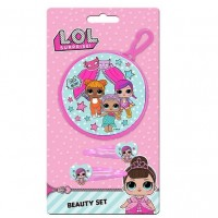 LOL Surprise purse with hair clips set
