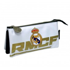 Triple Pencil Case Real Madrid
