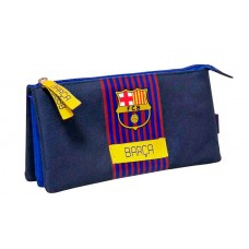 Triple Pencil Case FC Barcelona