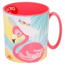 Microwave Mug Flamingos
